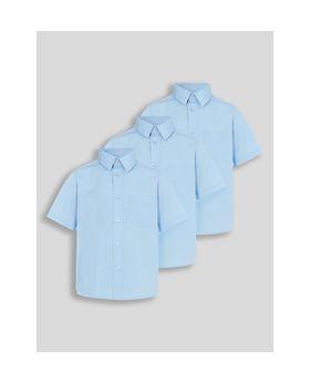 Blue Shirt-Pack of 3
