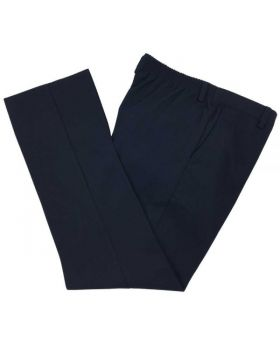 Boys Elastic Back School Trousers