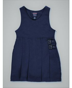 Twin Buckle Pinafore- French Toast