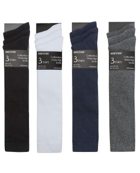Cotton Rich Knee High Socks -Bay 6