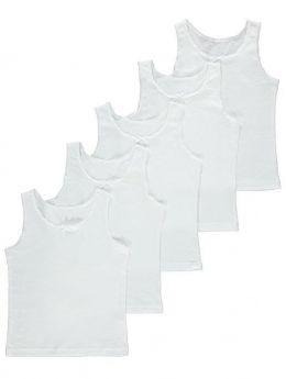 Girls 5 in 1 Vest