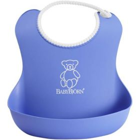 Baby Bjorn Plastic Bib - Royal Blue