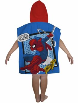 Spiderman Hooded Poncho