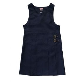 French Toast Twin Buckle Pinafore